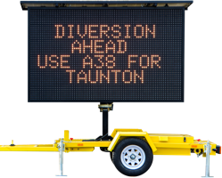 Mobile Variable Message Sign (VMS)