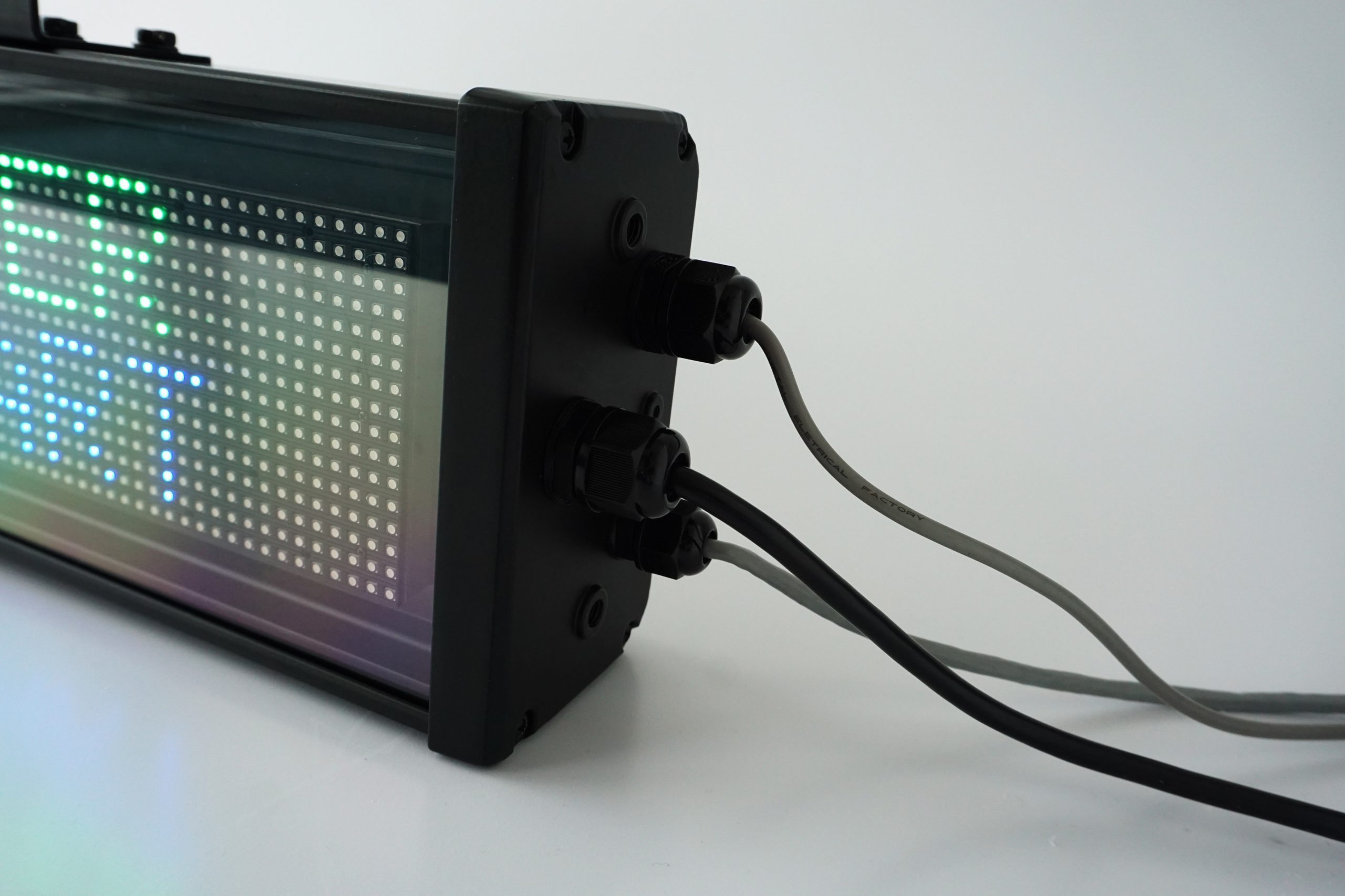 Wires COVID-19 LED Message Display